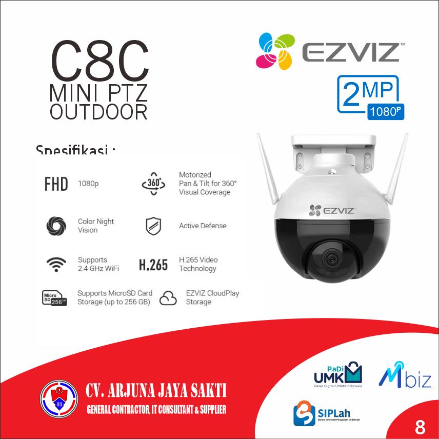 Baby Cam Ezviz C8C Mini PTZ