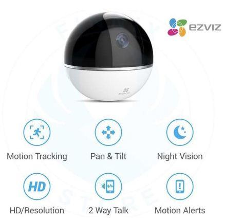 Kamera Portable Ezviz C6T
